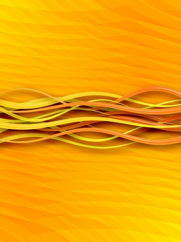 Yellow Waves Wallpaper