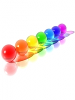 3d Colorful Spheres