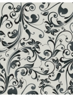 elegant floral wallpaper pattern