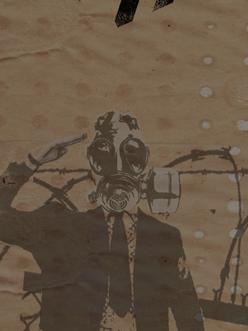 Gas Mask Wallpaper