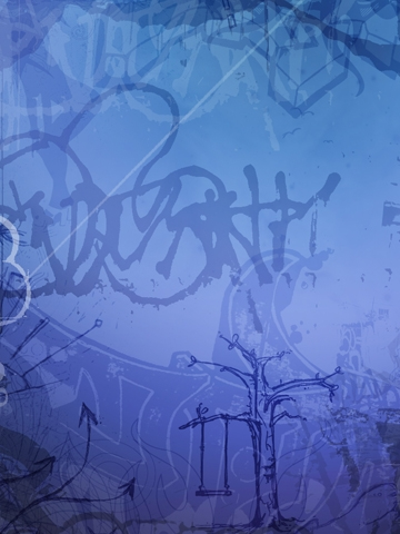 Girly Graffiti Wallpaper