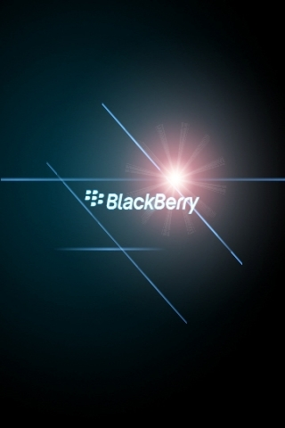 Blackberry Flare Wallpaper