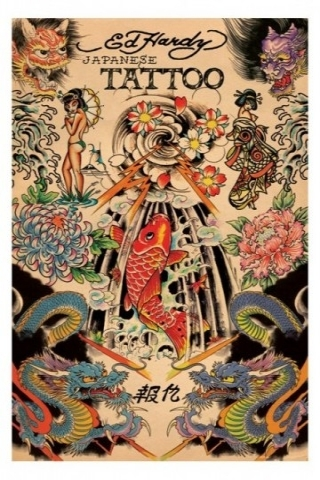 Ed Hardy Japanese Wallpaper