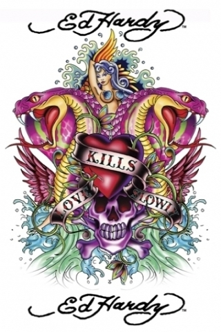 Ed Hardy Kills Wallpaper