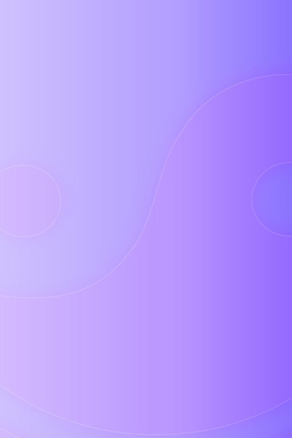 Light Purple Yin And Yang IPhone Wallpaper