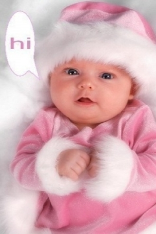 pink baby girl wallpaper