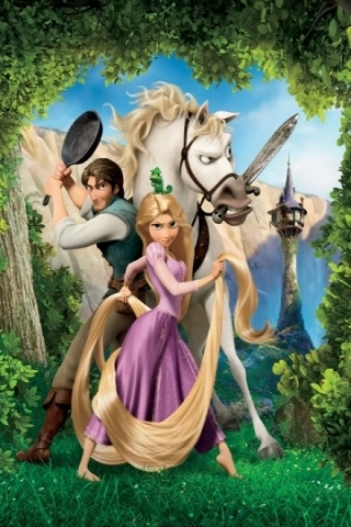 Rapunzel Disney Movie IPhone Wallpaper