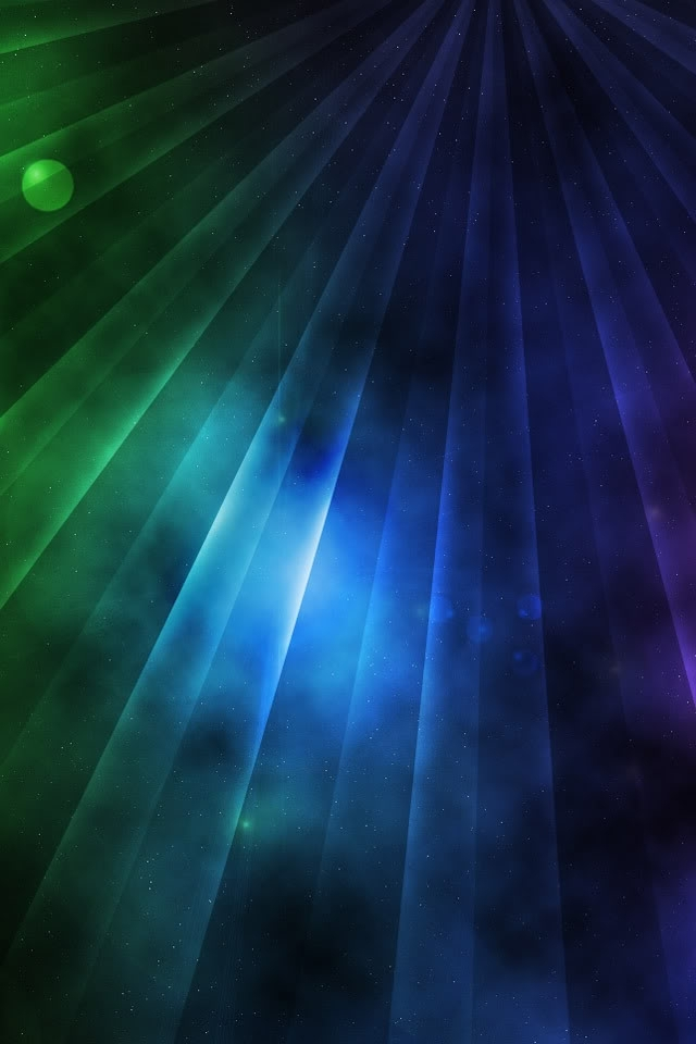 Color Rays Wallpaper