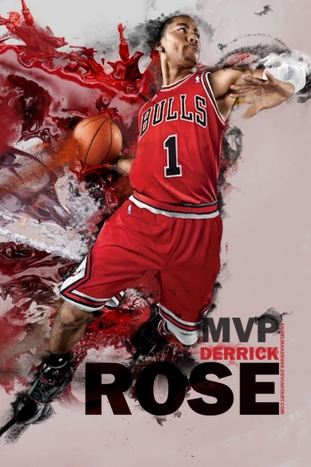 derrick rose wallpaper iphone - photo #11