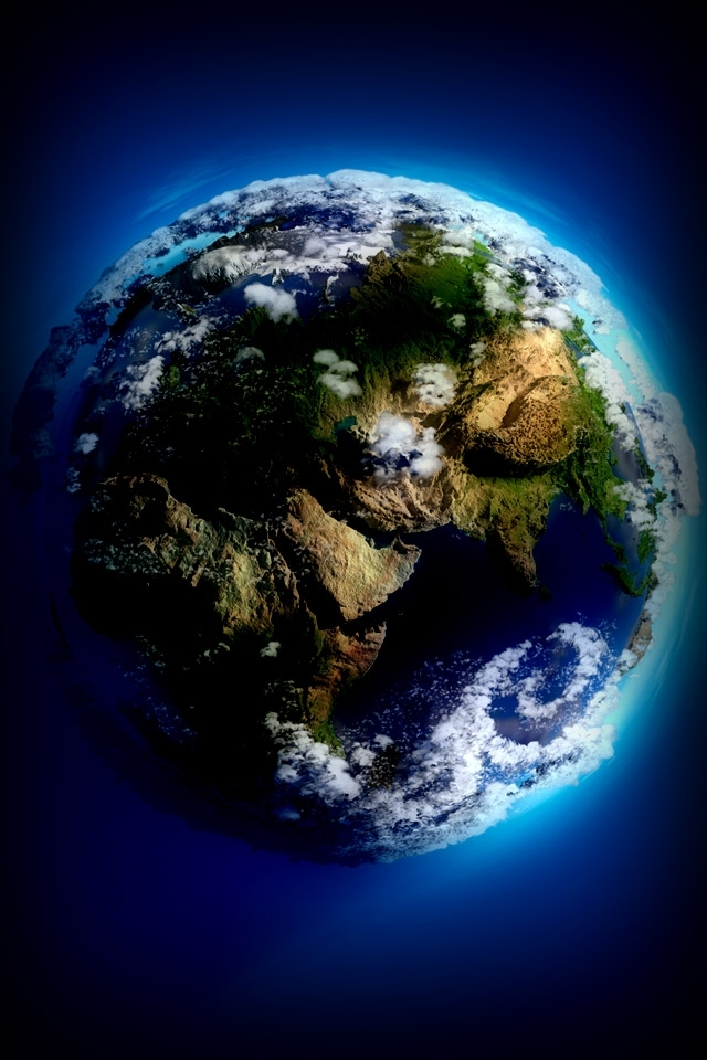 Earth Surface Wallpaper