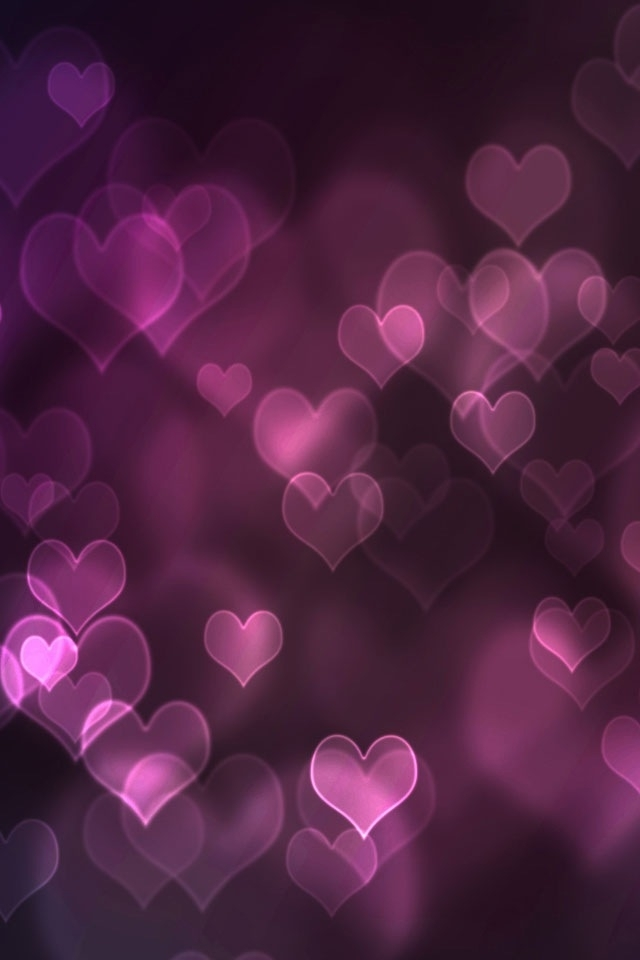 Pink Girly Wallpaper Iphone Pink hearts iphone 4s
