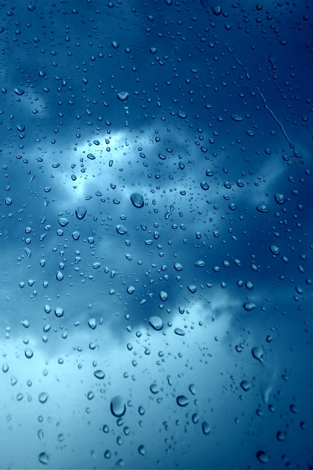 Rain DropsWindow IPhone 4s Wallpaper