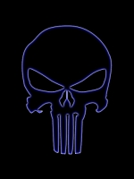 Neon Punisher Logo