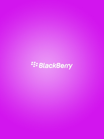 Simple Blackberry Logo Pink Wallpaper