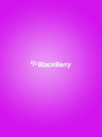 Simple Blackberry Logo Pink
