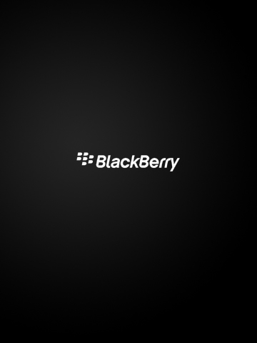Simple Blackberry Logo Wallpaper