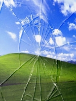 Windows Broken Screen